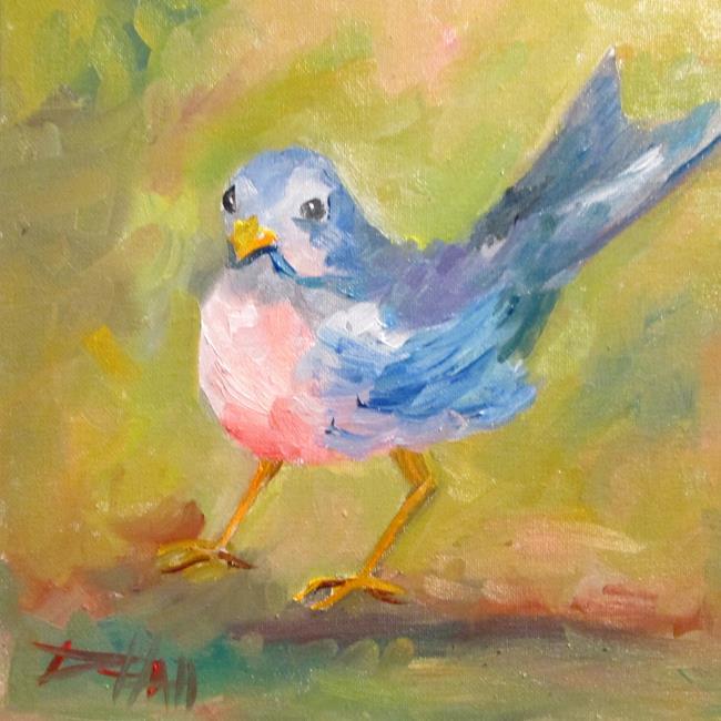 Art: Robin No. 3 by Artist Delilah Smith