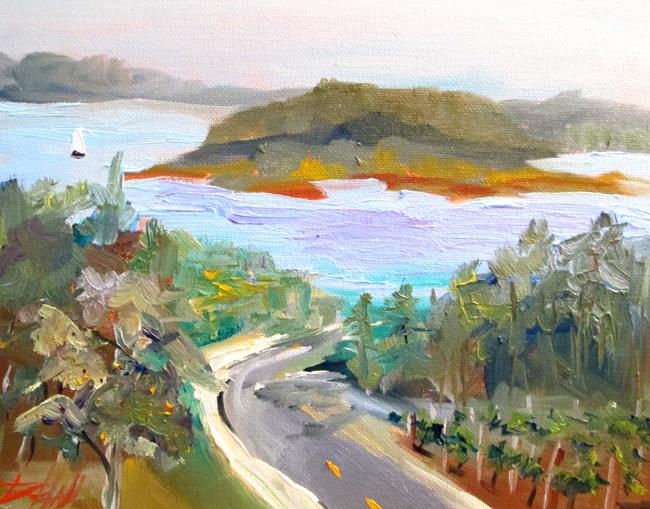 Art: Island View No. 2-sold by Artist Delilah Smith