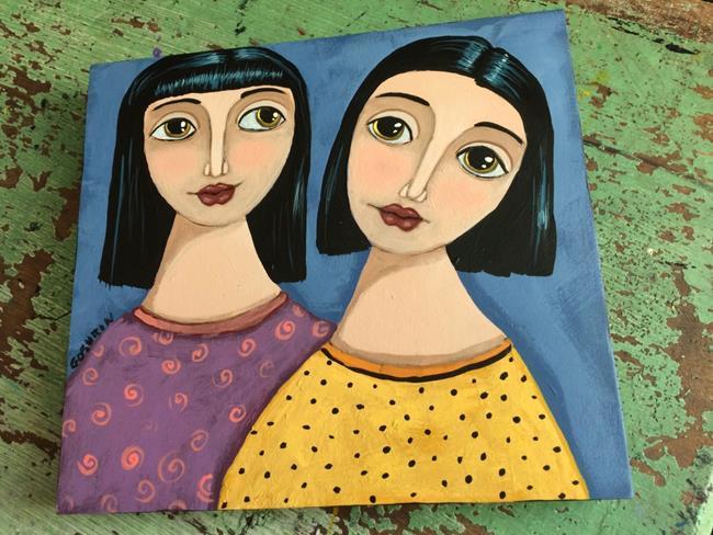 Art: Never Alone by Artist Cindy Bontempo (GOSHRIN)