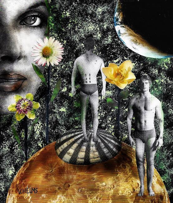 Art: Reverse Psychology by Artist Vicky Helms