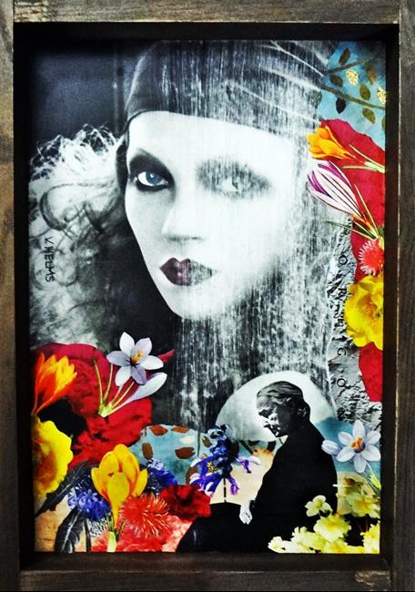 Art: Fade to Black by Artist Vicky Helms
