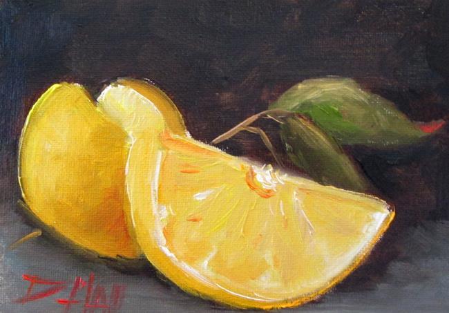 Art: Lemons No. 6 by Artist Delilah Smith