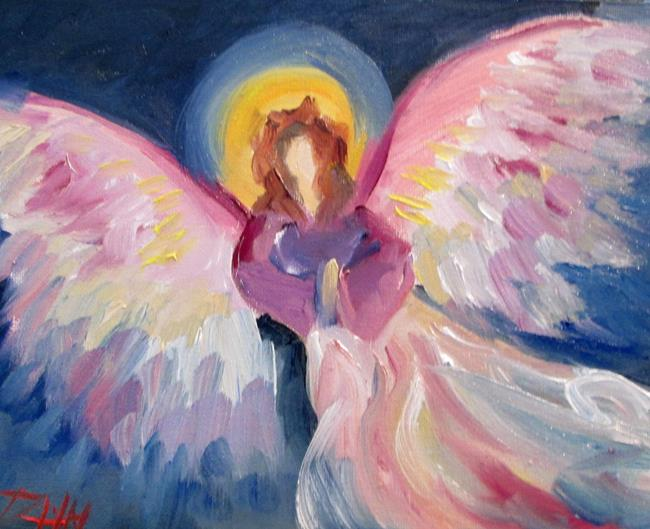Art: Angel No. 42 by Artist Delilah Smith