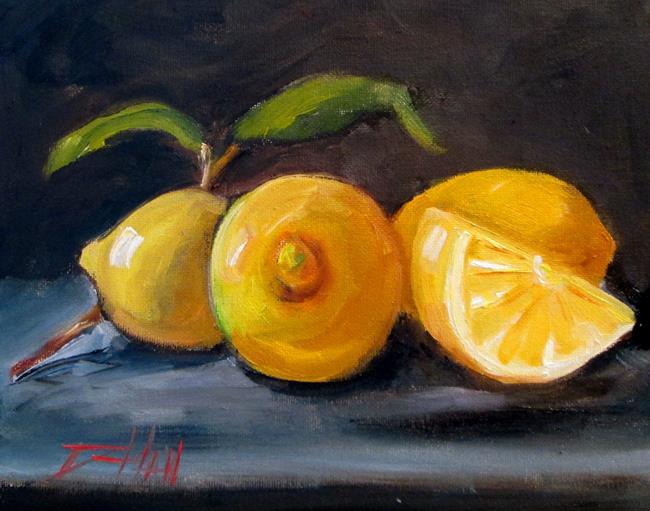 Art: Sour Lemons by Artist Delilah Smith