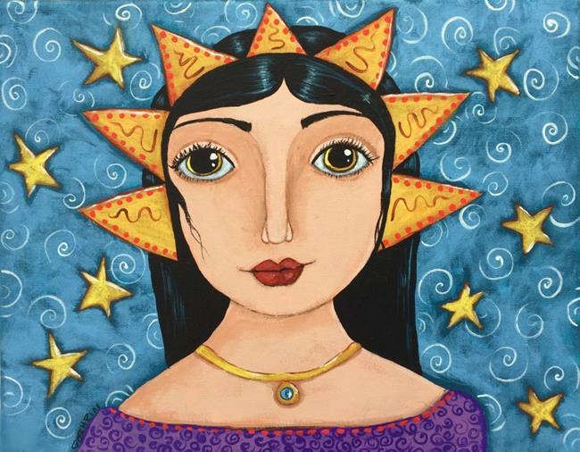 Art: StarBaby by Artist Cindy Bontempo (GOSHRIN)