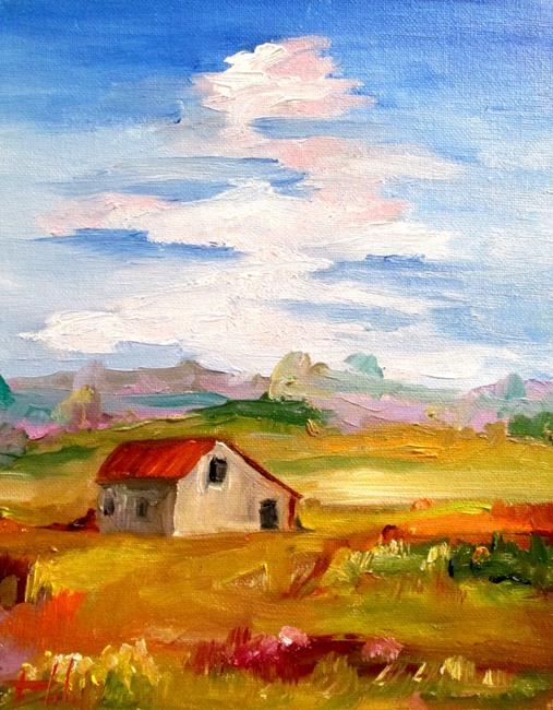Art: Barn No. 3 by Artist Delilah Smith