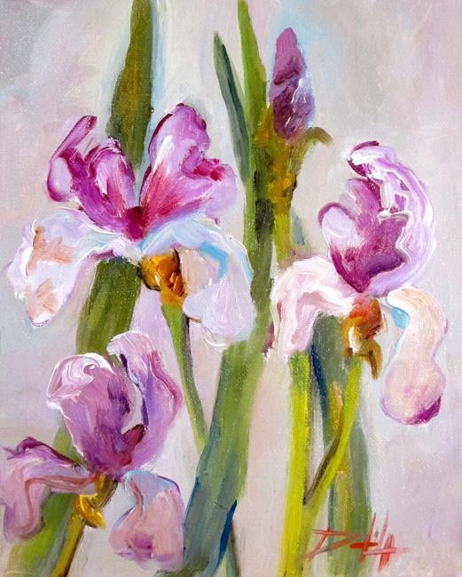 Art: Iris No. 18 by Artist Delilah Smith