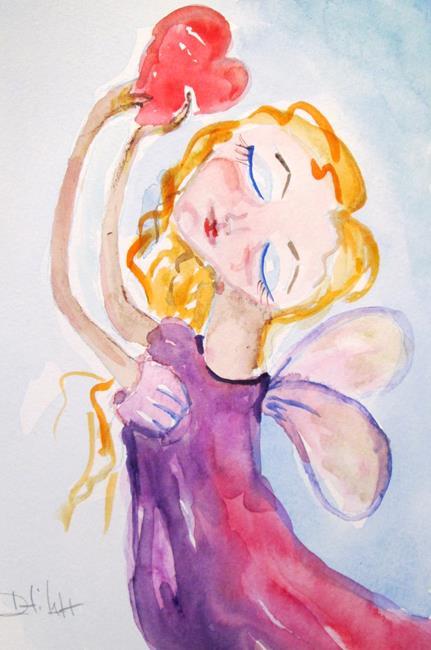 Art: Valentine Fairy by Artist Delilah Smith