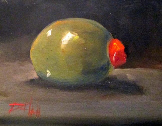 Art: Olive by Artist Delilah Smith