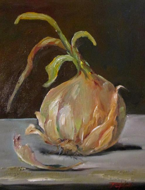 Art: Onion No. 2 by Artist Delilah Smith