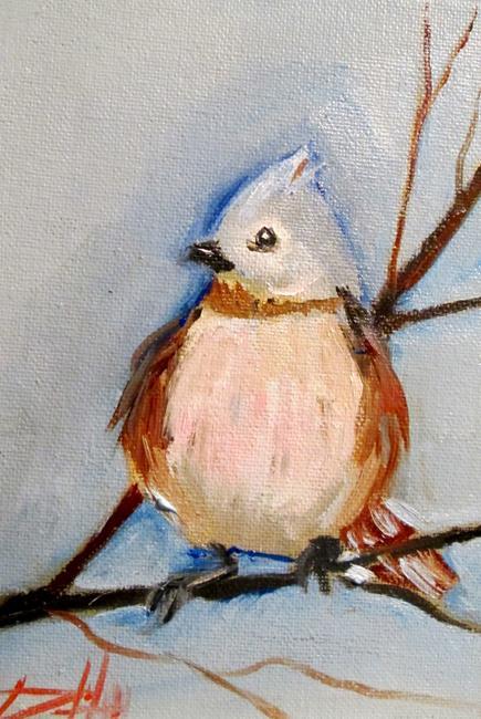 Art: Blue Jay by Artist Delilah Smith