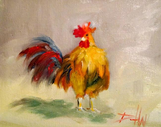 Art: Rooster No. 60 by Artist Delilah Smith