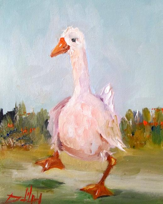 Art: Goose by Artist Delilah Smith