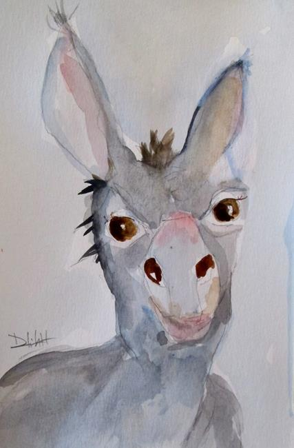 Art: Donkey by Artist Delilah Smith