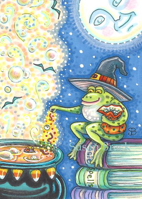 Art: SPELLS AND POTIONS by Artist Susan Brack