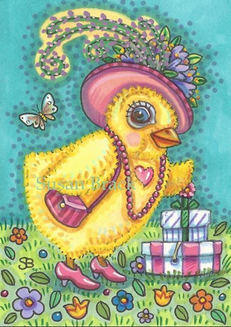 Art: DRESS UP Easter by Artist Susan Brack