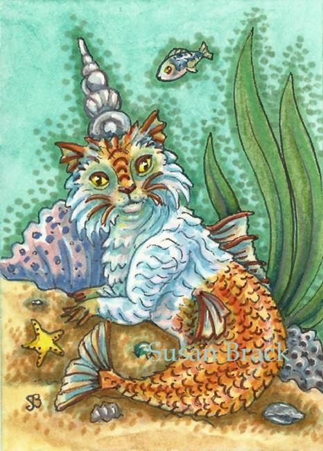 Art: KING CATFISH by Artist Susan Brack