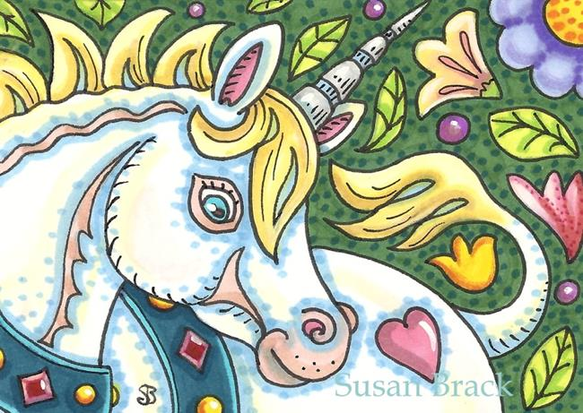 Art: SECRET GARDEN by Artist Susan Brack