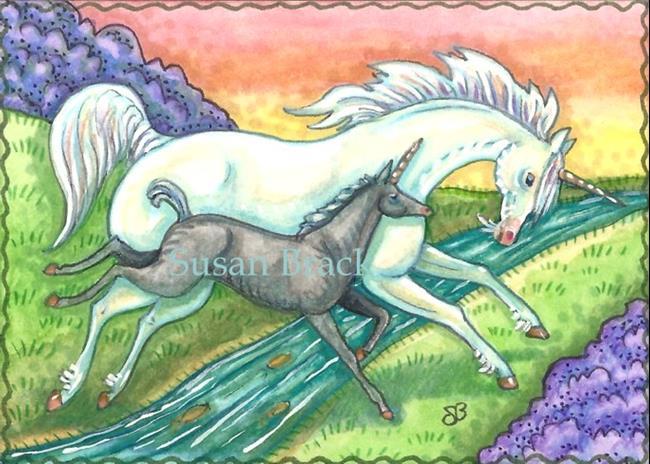 Art: TWILIGHT RUN by Artist Susan Brack