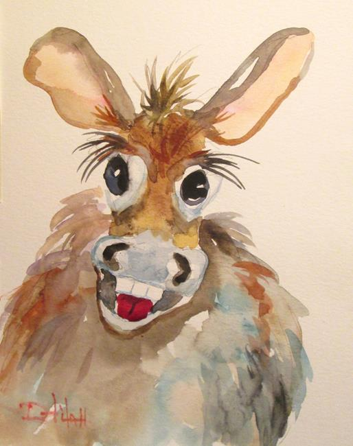 Art: Silly Donkey by Artist Delilah Smith