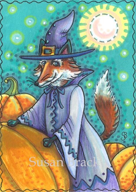 Art: FOXEY WITCH by Artist Susan Brack