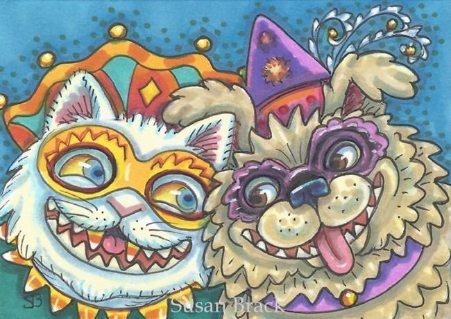 Art: HALLOWEENIES by Artist Susan Brack