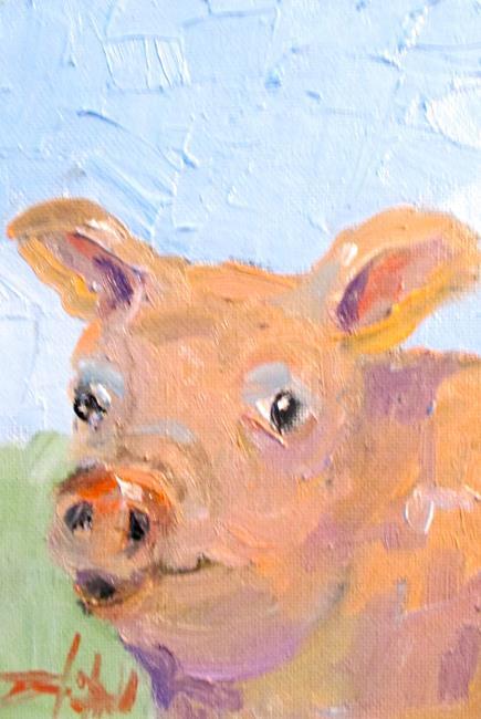 Art: Pork Chop by Artist Delilah Smith