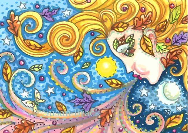 Art: BREATH OF AUTUMN by Artist Susan Brack
