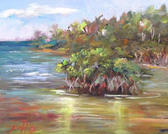 Art: Mangroves by Artist Delilah Smith