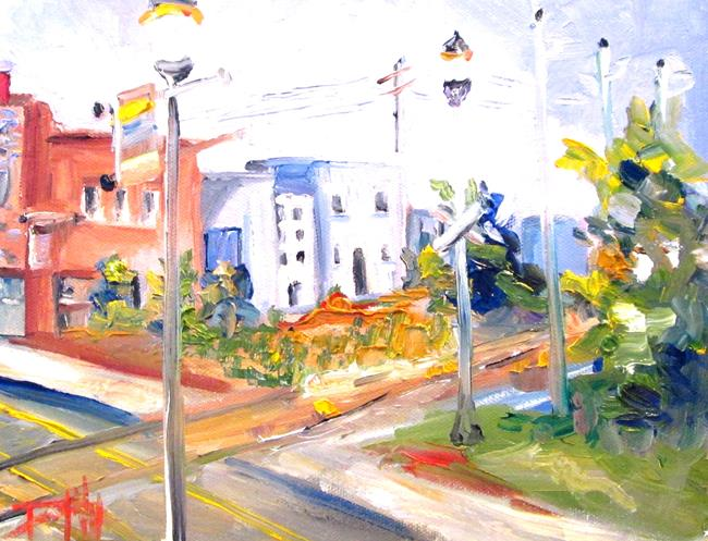 Art: Down Town No. 2 by Artist Delilah Smith