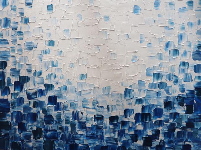 Art: The Waves by Artist LUIZA VIZOLI