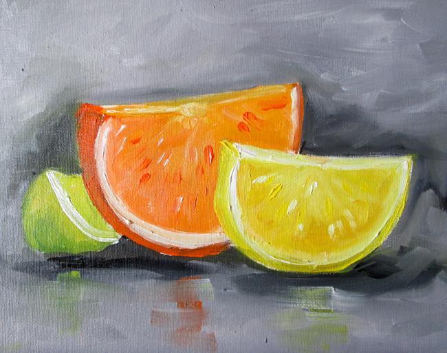 Art: Citrus by Artist Delilah Smith