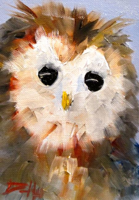 Art: Owl No. 17 by Artist Delilah Smith