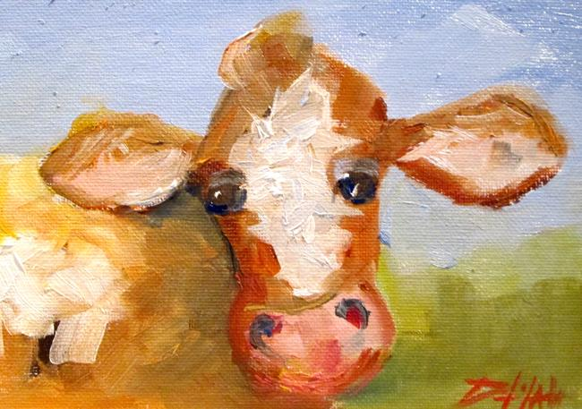 Art: Cow No. 22 by Artist Delilah Smith