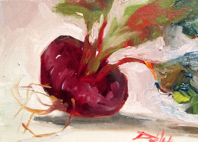 Art: Beets No. 2 by Artist Delilah Smith