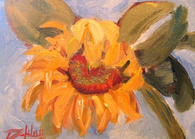 Art: Happy Sunflower by Artist Delilah Smith