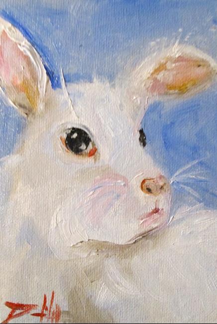 Art: Bunny No. 3 by Artist Delilah Smith