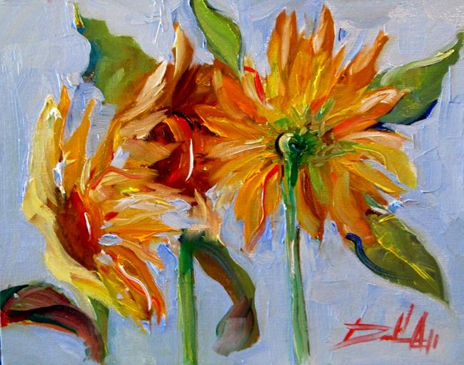 Art: Sunflowers No. 5 by Artist Delilah Smith