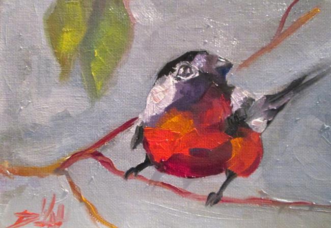 Art: Bird in a Tree by Artist Delilah Smith