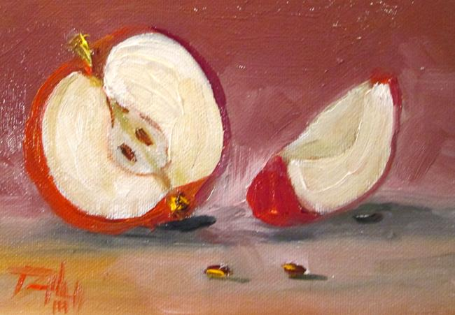 Art: Apples No. 27 by Artist Delilah Smith