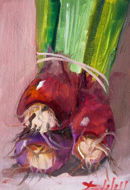 Art: Purple Onions No. 2 by Artist Delilah Smith