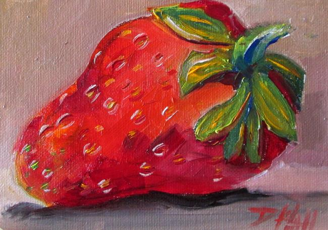 Art: Strawberry No. 4 by Artist Delilah Smith