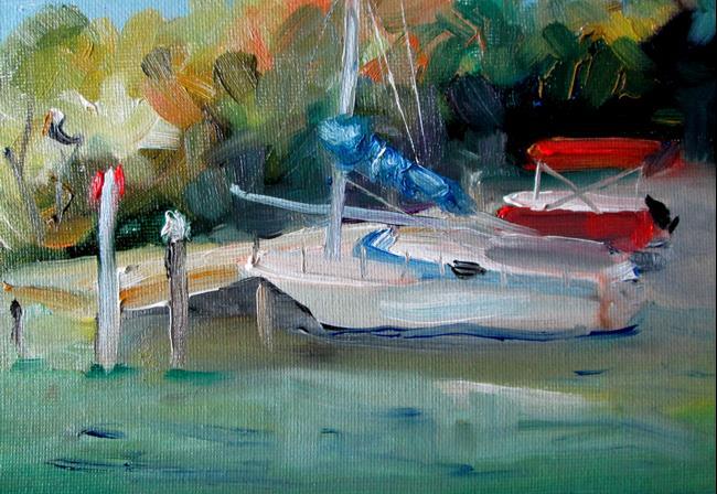 Art: Dock by Artist Delilah Smith