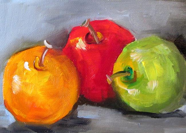 Art: Apples No. 28 by Artist Delilah Smith