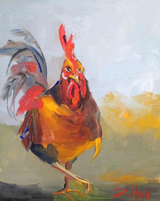 Art: Rooster No. 62 by Artist Delilah Smith