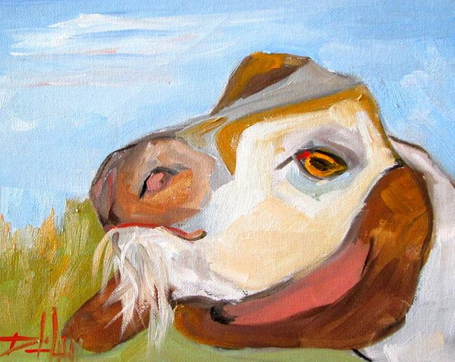 Art: Goat No. 12 by Artist Delilah Smith