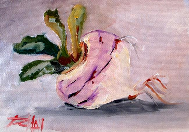 Art: Turnip No. 4 by Artist Delilah Smith
