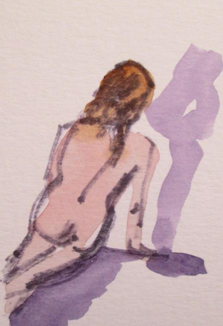 Art: Nude No. 11 by Artist Delilah Smith