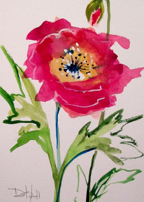 Art: Oriental Poppies No. 1 by Artist Delilah Smith