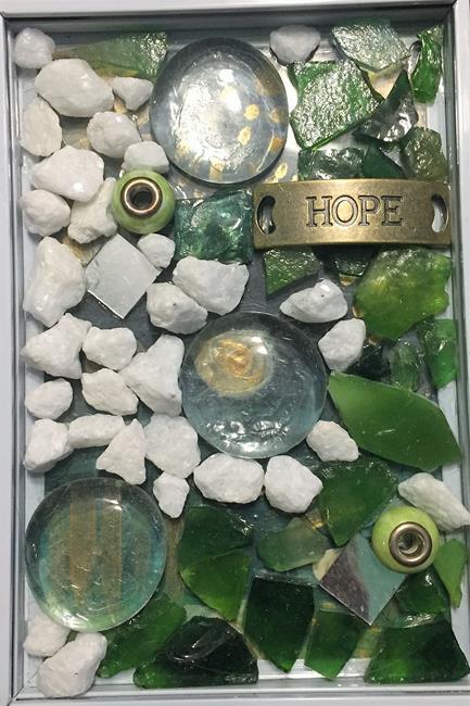 Art: Frame 3: Hope by Artist Vic Ki Lynn